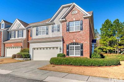 Raleigh Townhouse For Sale: 13227 Ashford Park Drive