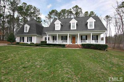 Wake Forest Single Family Home For Sale: 5237 Mill Dam Road