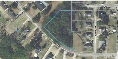 Harnett County Residential Lots & Land For Sale: W J Street