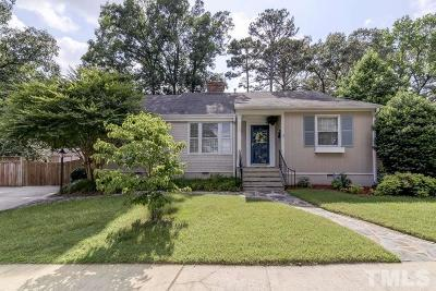 Wake County Single Family Home For Sale: 2503 St Marys Street