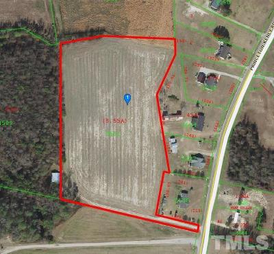 Johnston County Residential Lots & Land For Sale: 4578 Princeton Kenly Road
