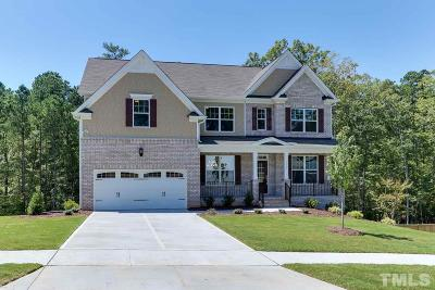 Durham Single Family Home For Sale: 1007 Valley Rose Way #Homesite