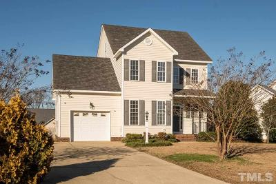 Angier Single Family Home Pending: 115 Kerrylane Drive