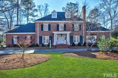 Cary Single Family Home Contingent: 307 Versailles Drive