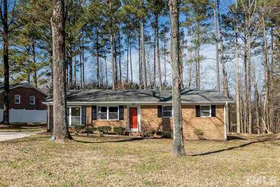 Durham Single Family Home For Sale: 532 Olive Branch Road