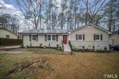 Cary Single Family Home Contingent: 607 Park Street East