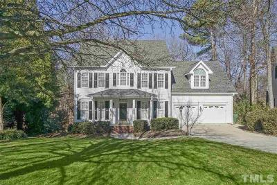 Cary Single Family Home Contingent: 311 Tibbetts Rock Drive