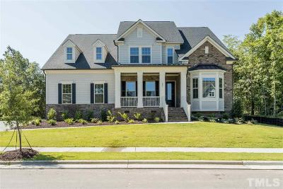 Holly Springs Single Family Home For Sale: 209 Silent Cove Lane #Lot 125
