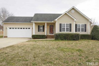 Dunn Single Family Home For Sale: 304 Village Square Drive