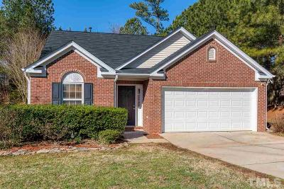 Holly Springs Single Family Home Pending: 216 Sturminster Drive