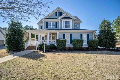 Fuquay Varina Single Family Home Contingent: 2545 Forestbluff Drive