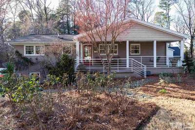 Raleigh Single Family Home For Sale: 2007 Reaves Drive
