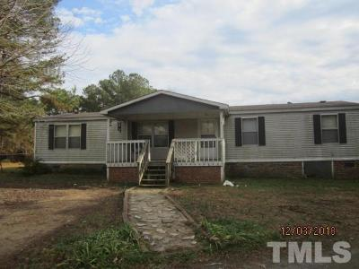 Granville County Manufactured Home Pending: 5042 Old Rt 75 Highway