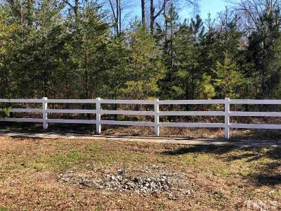 Mebane Residential Lots & Land For Sale: Lot 2 Mrs White Lane