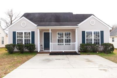 Knightdale Single Family Home Pending: 5164 Julip Drive