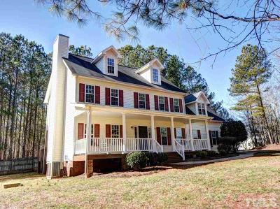 Pittsboro Single Family Home Contingent: 517 Henderson Tanyard Road