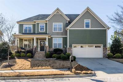 Cary Single Family Home Contingent: 829 River Song Place