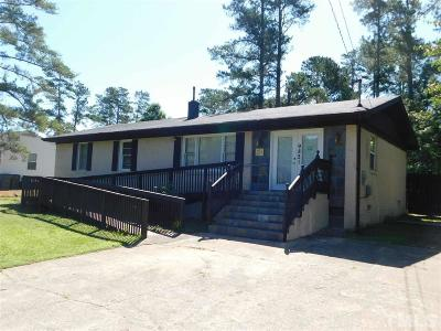 Holly Springs Single Family Home For Sale: 9821 Holly Springs Road
