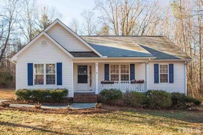Franklinton Single Family Home Pending: 4064 Old Franklinton Road