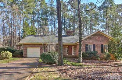 Chapel Hill Single Family Home Contingent: 6611 Falconbridge Road