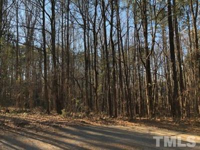 Cary Residential Lots & Land Contingent: Teaberry Court