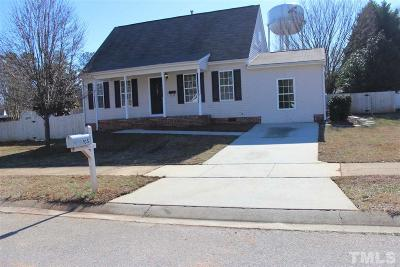 Holly Springs Single Family Home Pending: 105 Red Feather Court