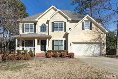 Apex Single Family Home Pending: 810 Haddon Hall Drive