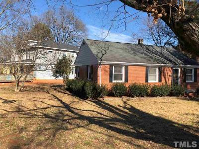 Raleigh Single Family Home For Sale: 2000 Pine Drive