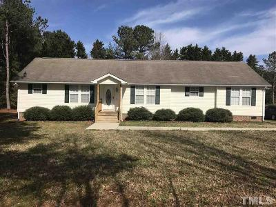 Chatham County Single Family Home For Sale: 34 Prestonwood Drive