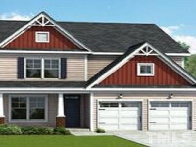 Fuquay Varina Single Family Home Pending: 3453 Jones Lake Road #Lot 710