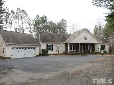 Granville County Single Family Home For Sale: 603 Woodland Church Road