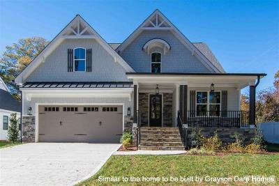 Hillsborough Single Family Home For Sale: Lot 16 Old Cedar Grove Road