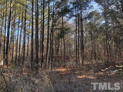Chapel Hill Residential Lots & Land Pending: 7400-7402 Nc Old 86 Highway