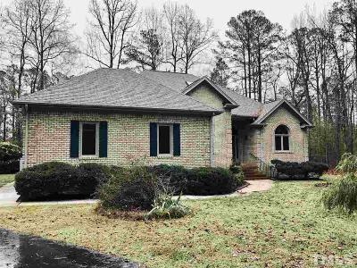 Raleigh Single Family Home Contingent: 6021 Bedfordshire Drive