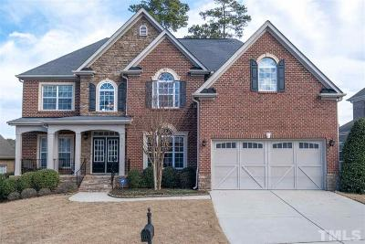 Wake Forest Single Family Home For Sale: 3717 Amberwine Lane