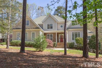 Chapel Hill Single Family Home For Sale: 10000 Crystal Cove