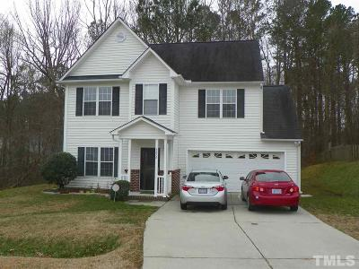 Knightdale Single Family Home For Sale: 5272 Nobleman Trail
