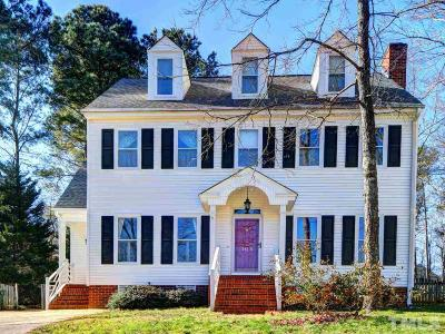 Cary Single Family Home Pending: 105 Houston Circle