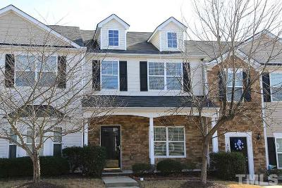 Knightdale Townhouse Contingent: 512 Sternwheel Way