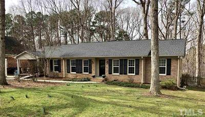 Durham Single Family Home For Sale: 707 Clarion Drive