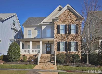 Cary Single Family Home Contingent: 511 Gallberry Drive