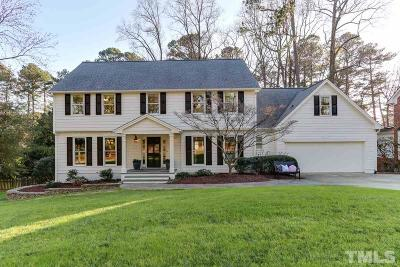 Raleigh Single Family Home Contingent: 7009 North Ridge Drive