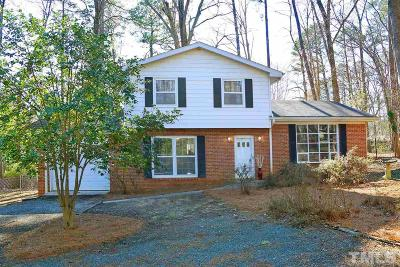 Chapel Hill Single Family Home Contingent: 114 Virginia Drive