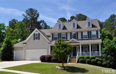 Wake Forest Single Family Home For Sale: 3654 Coach Lantern Avenue