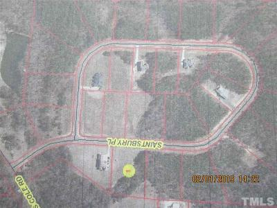 Lee County Residential Lots & Land For Sale: Lot 11 Saintsbury Place