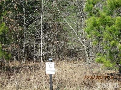 Lee County Residential Lots & Land For Sale: Lot 17 Saintsbury Place
