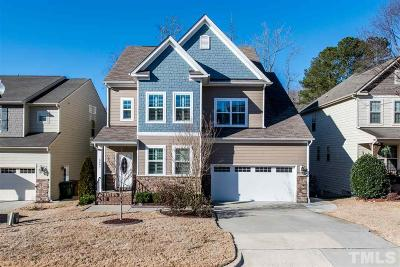Apex Single Family Home Contingent: 5441 Moneta Lane