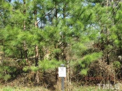 Lee County Residential Lots & Land For Sale: Lot 18 Saintsbury Place