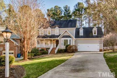 Chapel Hill Single Family Home Contingent: 1252 Falmouth Court