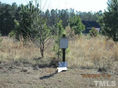 Lee County Residential Lots & Land Pending: Lot 19 Saintsbury Place